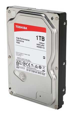 هارد دیسک اینترنال توشیبا 1 ترابایت مدل P300 HDW