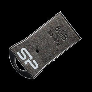 فلش مموری سیلیکون پاور 8 گیگا بایت مدل T01