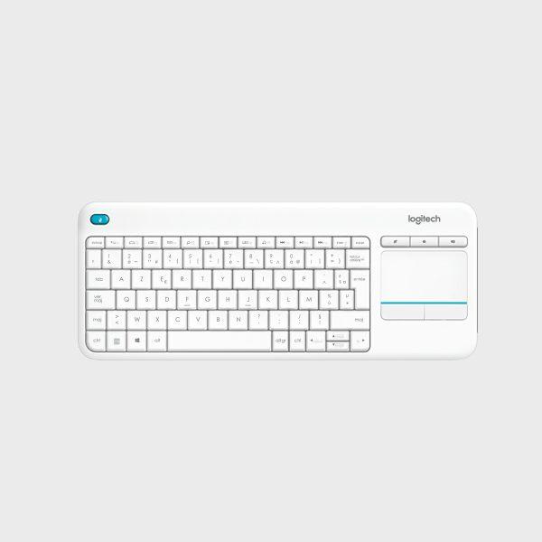 کیبورد لاجیتک K400 سفید Touchpad K400 Plus