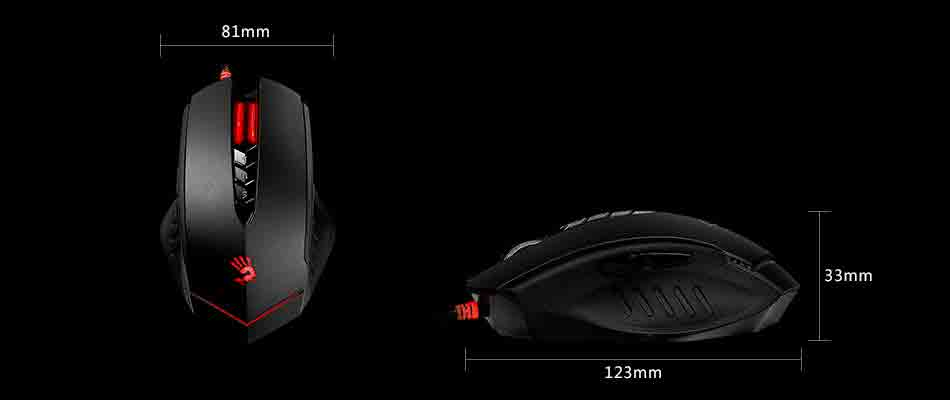 MOUSE A4TECH Wired V8 GAMING