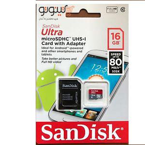 Ram Micro SDHC UHS-I Card SANDISK 16G