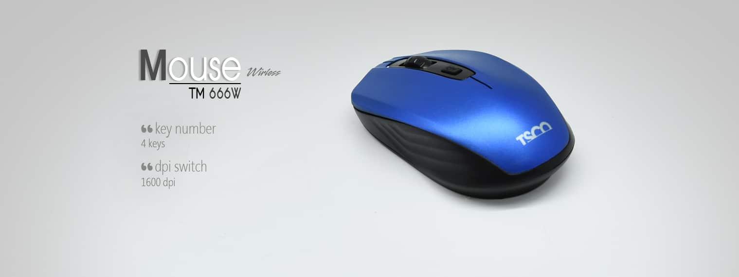 Mouse Tsco Wireless TM-666W