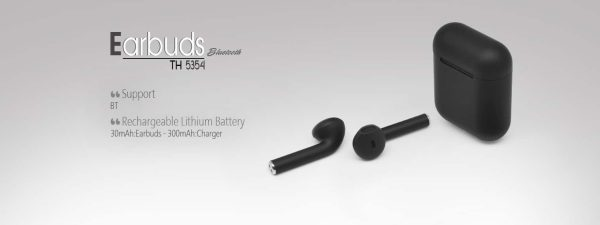 TRUE PORTABLE EARBUDS TH 5354