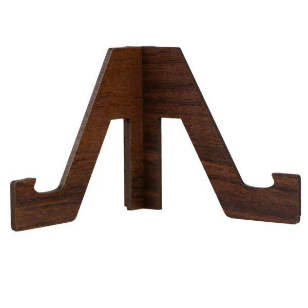 استند چوبی رو میزی موبایل